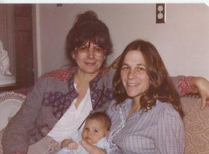 Photo: Grandma, Frannie, and Baby M