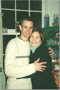 Marijke and cousin Neal