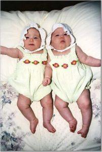 Baby Girls, photo taken by Marijke