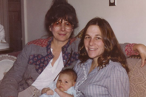 Grandma, Frannie, and Baby M