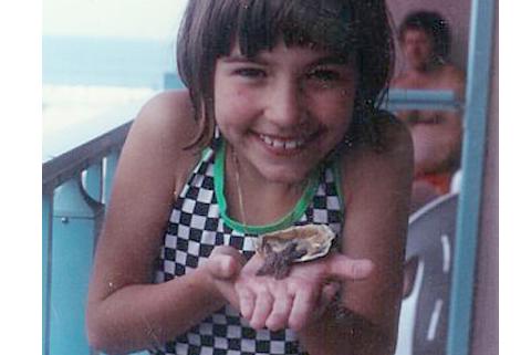 Marijke found a starfish